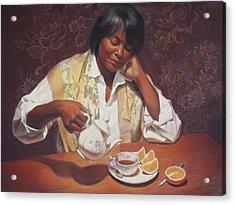 Evening Tea Acrylic Print