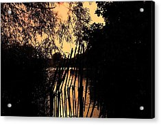 Acrylic Print featuring the photograph Evening Time by Keith Elliott