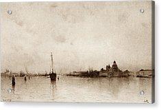 Evening   Venice Acrylic Print