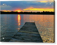 Evenings At The Cabin Acrylic Print