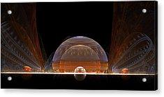 Event Horizon Acrylic Print by Richard Ortolano
