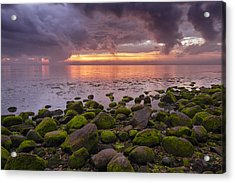 Eventide Acrylic Print by Mike Lang