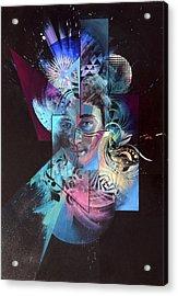 Ever Decreasing Circles Acrylic Print by Douglas Kleinsmith