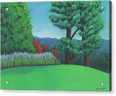 Ever Green Acrylic Print