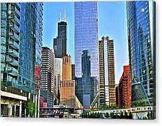 Ever Growing Chicago Acrylic Print