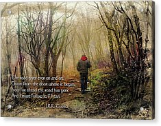 Acrylic Print featuring the photograph Ever On And On... by Jessica Brawley