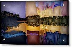 Everglades At Dawn Acrylic Print
