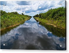 Everglades Canal Acrylic Print