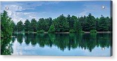 Evergreen Lake Reflections Acrylic Print