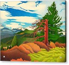Evergreen Overlook Acrylic Print