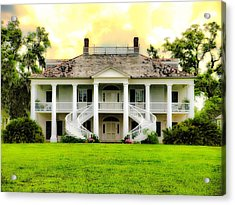 Evergreen Plantation Acrylic Print