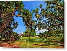 Evergreen Plantation Acrylic Print by Steve Harrington