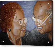 Everlasting Love Acrylic Print by Keenya  Woods