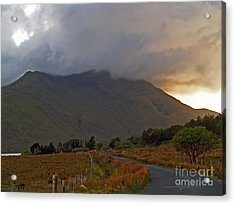Every Cloud Has A Silver Lining Acrylic Print