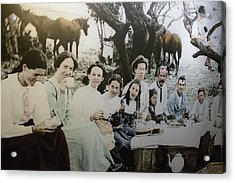 Acrylic Print featuring the photograph Every Day Life In Nation In Making by Miroslava Jurcik