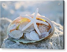 Every Grain Of Sand Acrylic Print by Melanie Moraga