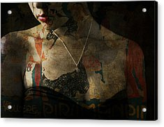 Every Picture Tells A Story Acrylic Print by Paul Lovering