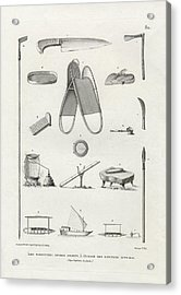 Acrylic Print featuring the drawing Everyday Items On Guam And Mariannas by dApres Duperrey