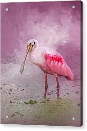 Everything Is Rosie Acrylic Print