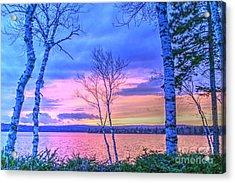 Everything Pastel Acrylic Print by Brenda Ketch
