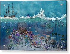 Everything Under The Sea Acrylic Print