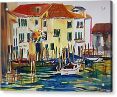 Everything Venice Acrylic Print by Therese Fowler-Bailey