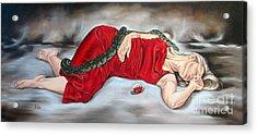Eve's Temptation - Death Acrylic Print by Ilse Kleyn