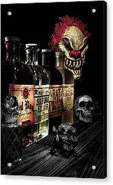 Evil Alchemy Acrylic Print by Tom Mc Nemar