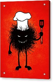 Evil Bug Chef Loves To Cook Acrylic Print