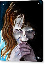 Evil Doesn't Get Any Better Acrylic Print