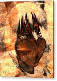 Evil Grin Acrylic Print
