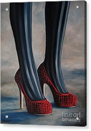 Evil Shoes Acrylic Print