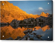 Evolution Basin Sunset Acrylic Print