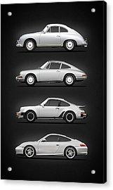 Evolution Of The 911 Acrylic Print