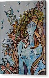 Evolve Acrylic Print by Claudia Cole Meek