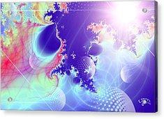 Evolving Universe Acrylic Print