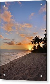Ewa Beach Sunset 2 - Oahu Hawaii Acrylic Print by Brian Harig