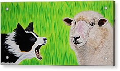 Ewe Talk'in To Me? Acrylic Print