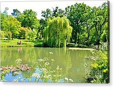 Exbury Garden Acrylic Print