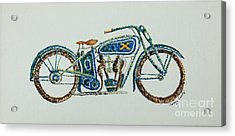 Excelsior Motorcycle Acrylic Print