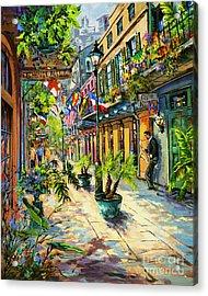 Exchange Alley Acrylic Print