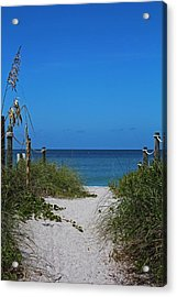 Acrylic Print featuring the photograph Exclusively Captiva by Michiale Schneider