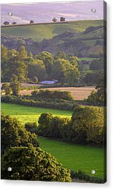Exe Valley Evening Acrylic Print by Neil Buchan-Grant