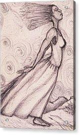 Exhaled Acrylic Print by Malik Seneferu