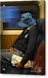 Exhausted Acrylic Print by Fred Lassmann