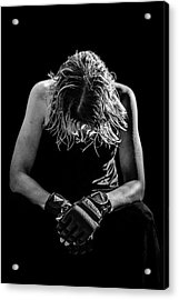 Exhaustion Acrylic Print by Amber Kresge