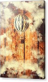 Exhibit In Adventure Acrylic Print