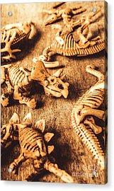 Exhibition In Prehistoric Art Acrylic Print