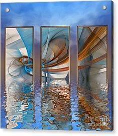 Exhibition Under The Sky Acrylic Print