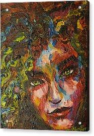 Exhilarating Darkness Acrylic Print by Alice Fairbank Furr